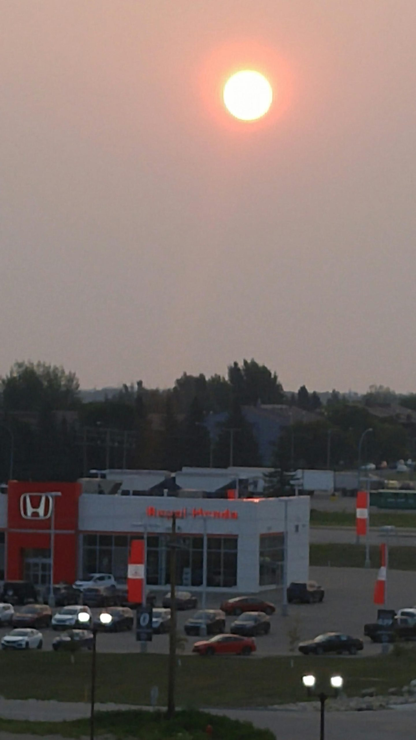 Wildfire Smoke Again Blankets The Region