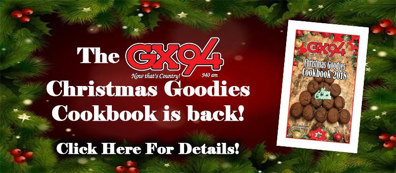 Feature: https://www.gx94radio.com/christmas-goodies-cookbooks/