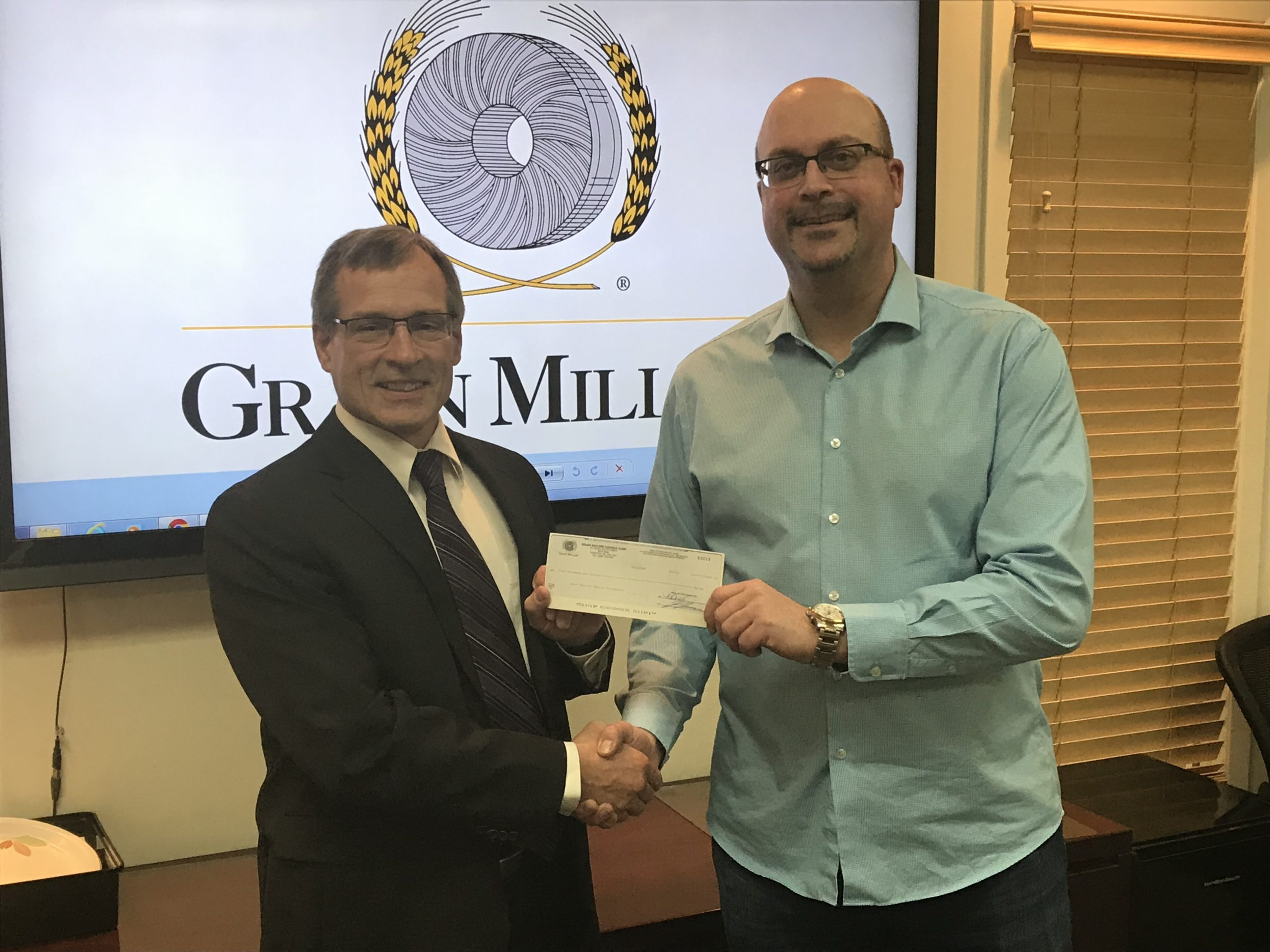 Grain Millers Donates to Health Foundation