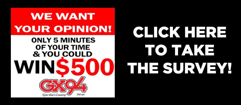 Feature: https://www.gx94radio.com/2018-gx94-survey/