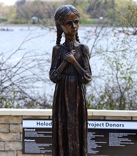 Special Service Held to Honour Victims of Holodomor