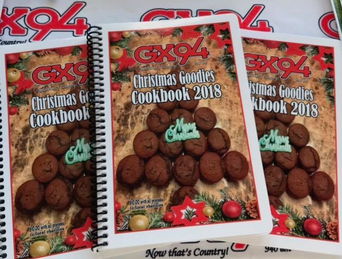 We're rolling right along with the 2018 GX94 Christmas Goodies Cookbook!