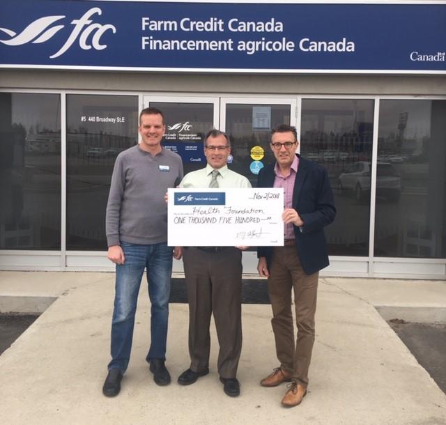 Farm Credit Canada Donates Towards Lab Equipment at Yorkton Regional Health Center