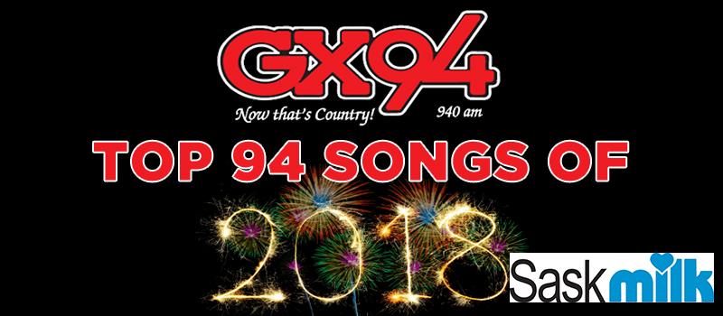 GX94 Top 94 Songs of 2018
