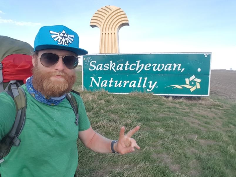 Yorkton Man Completes Trek Across Canada