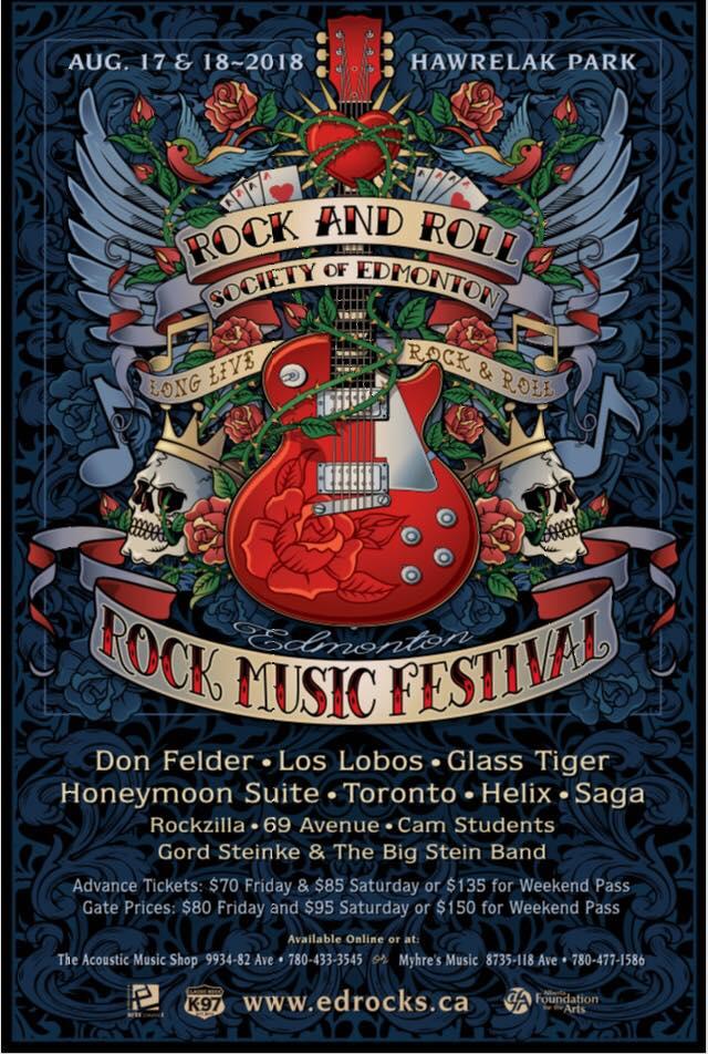 Win Edmonton Rock Festival Tickets!