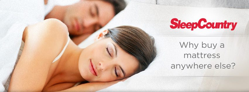 Win A $1500 Sleep Country Gift Card!
