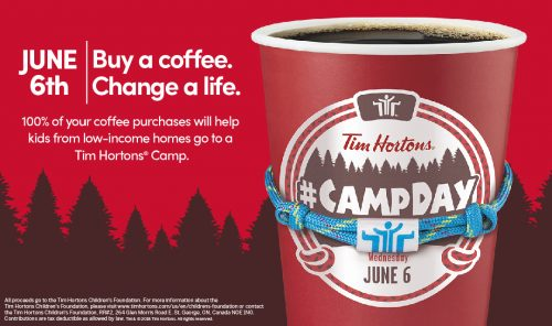 Tim Horton's Camp Day