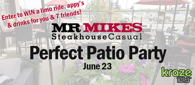 MR MIKES Perfect Patio Party