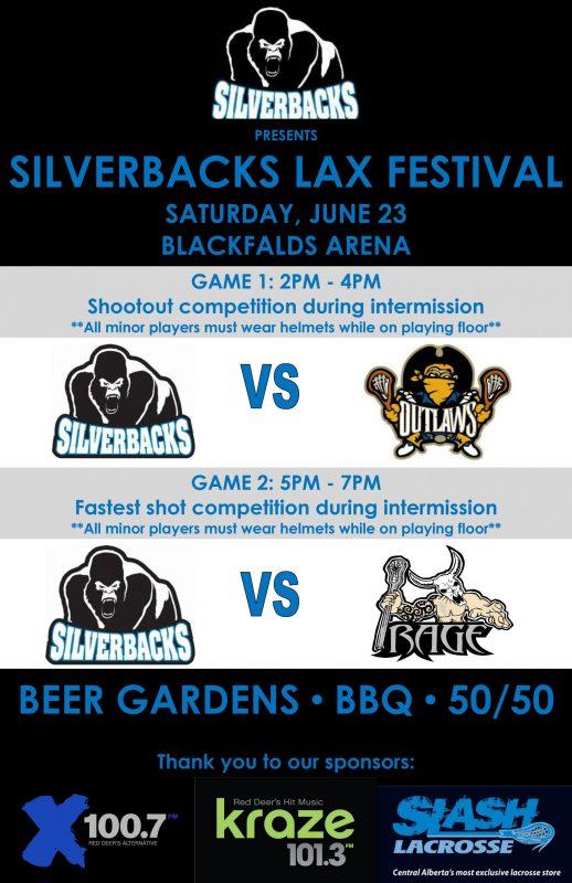 Blackfalds Silverbacks Lacrosse Open House