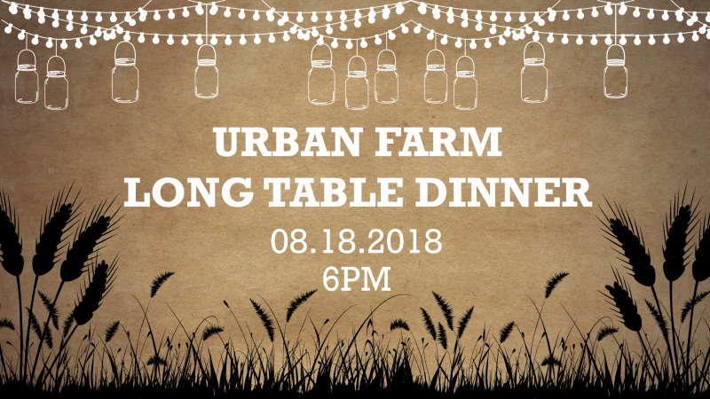 Urban Farm Long Table Dinner