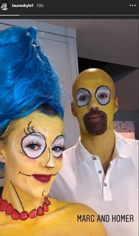 Connor McDavid and girlfriend Lauren win Halloween.