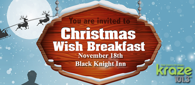 Feature: https://www.kraze1013.com/2018/11/05/christmas-wish-breakfast/