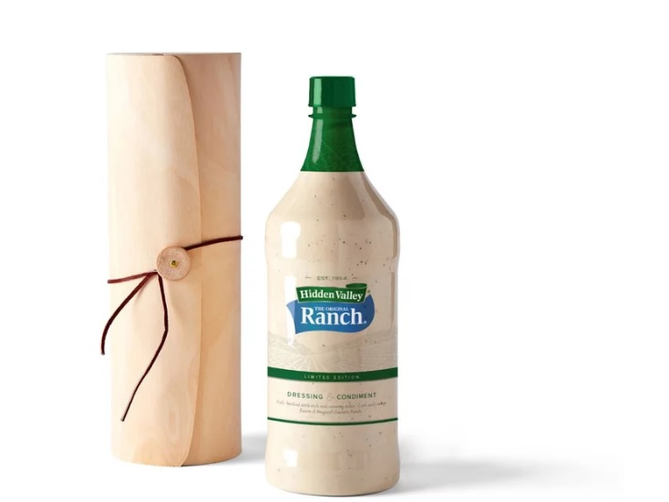 All I want for Christmas is a big bottle of salad dressing?