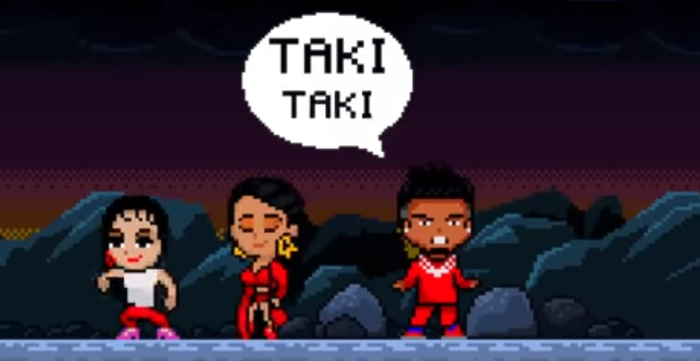 Ozuna has an 8-bit version of Taki Taki, and we're here for it.