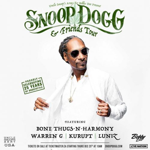 Snoop Dogg and Friends are taking over Alberta!
