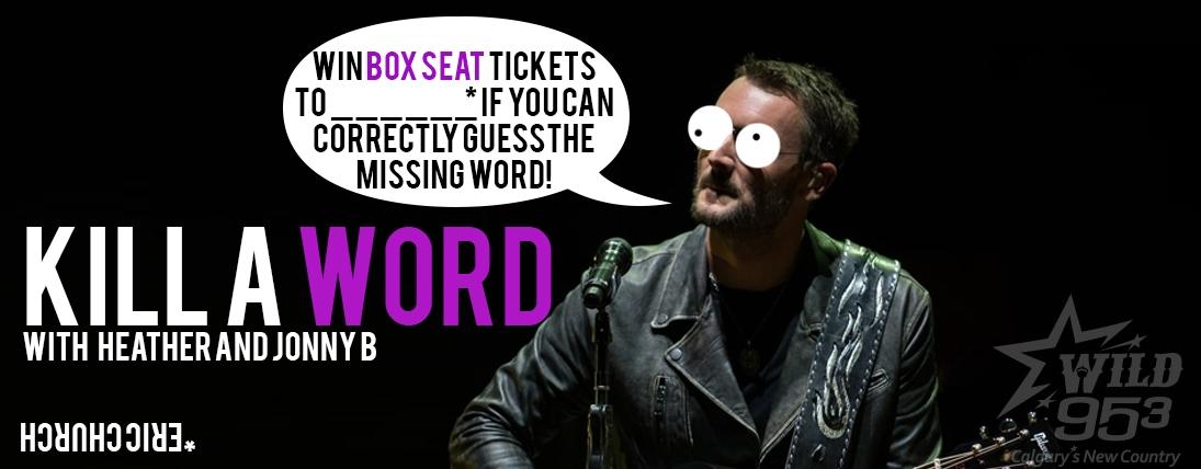 WIN Box Seats to Eric Church!