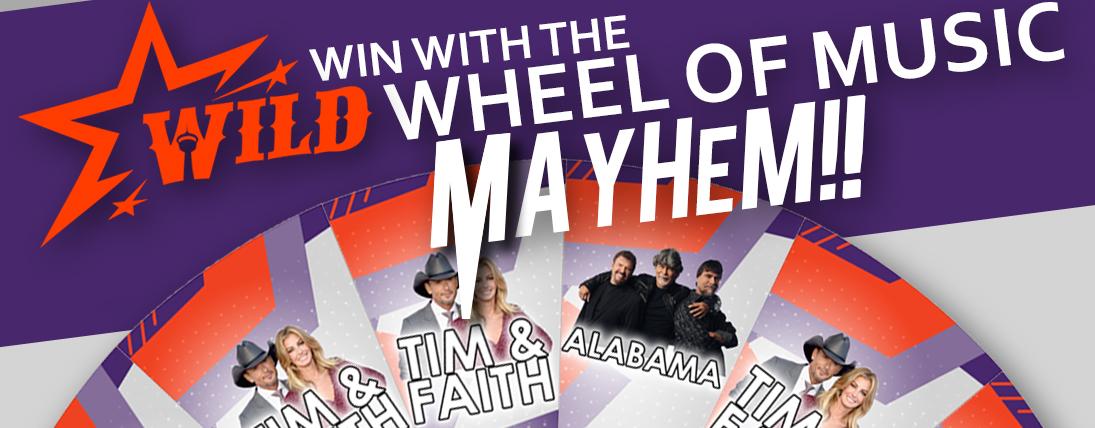 Wheel of Music MAYHEM!!
