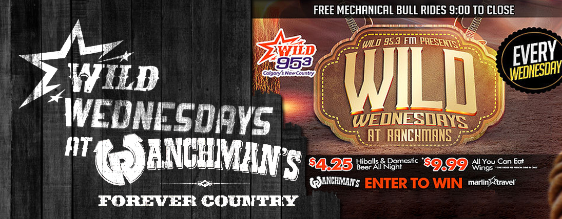 WILD Wednesdays at Ranchmans