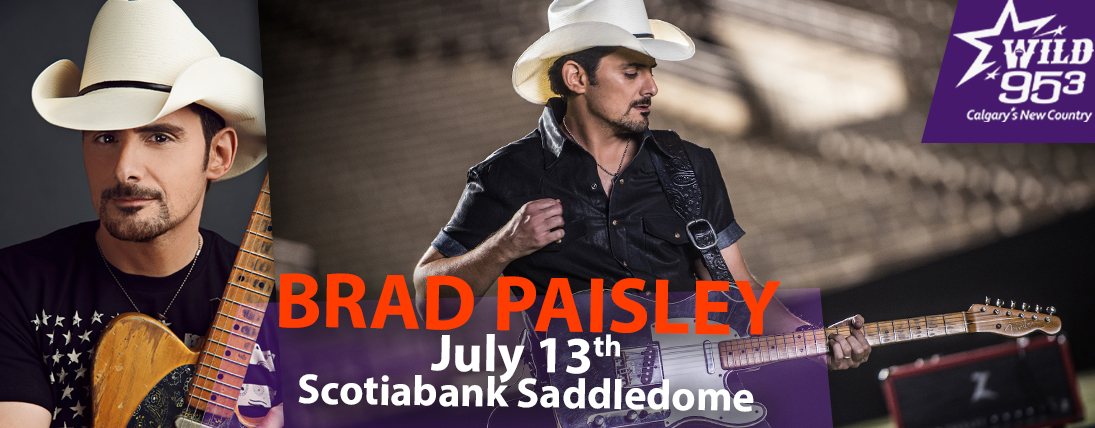 WIN TICKETS TO BRAD PAISLEY
