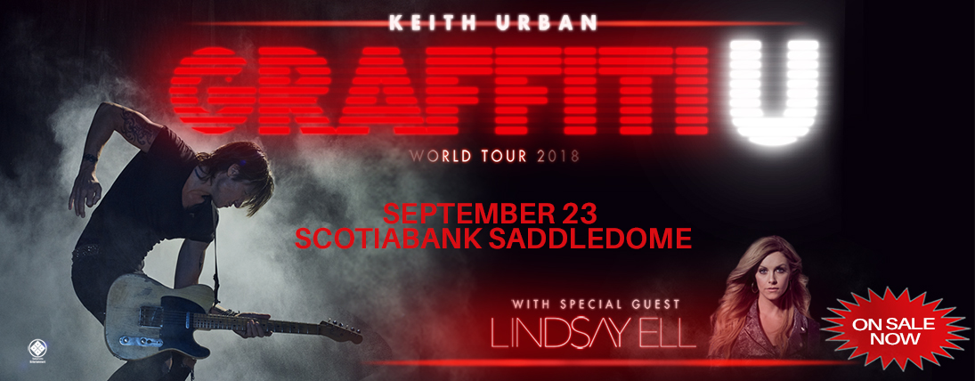 Win Tickets to Keith Urban!!