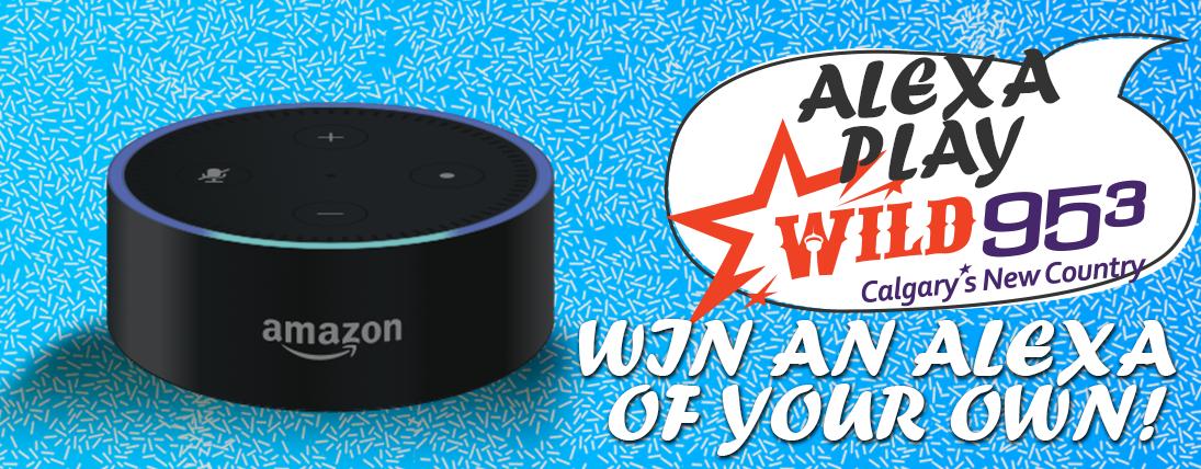 Listen to win an Alexa!
