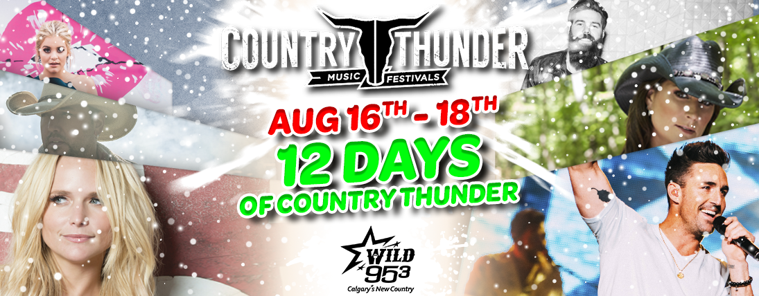 Feature: https://www.wild953.com/12-days-of-country-thunder-3/