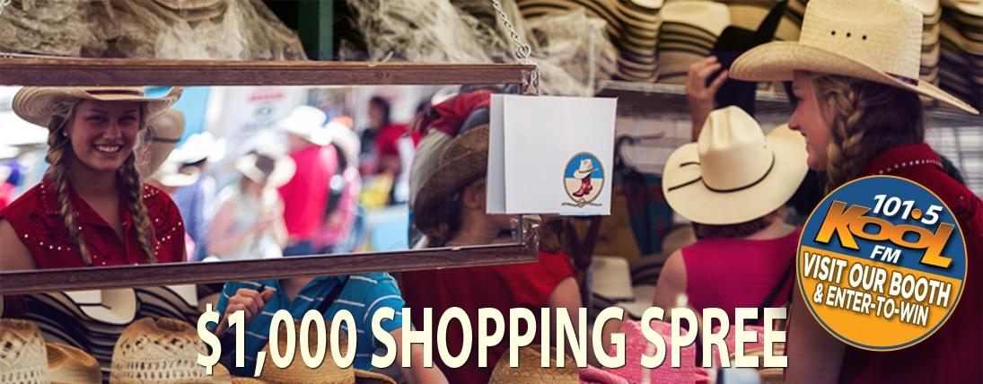 Stampede Market Shopping Spree!