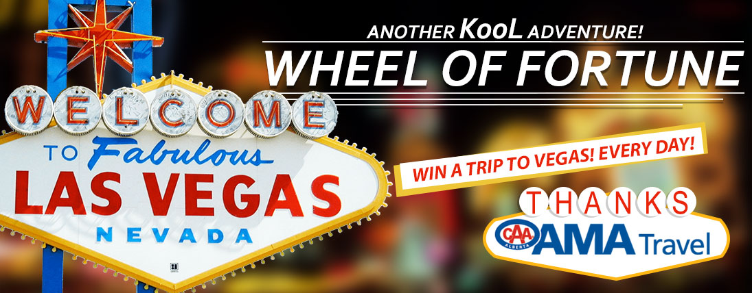 Win a Trip to Vegas: Wheel of Fortune!
