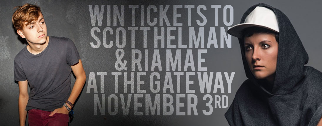 Win Tickets to Scott Helman and Ria Mae