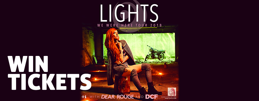 Win Tickets to Lights