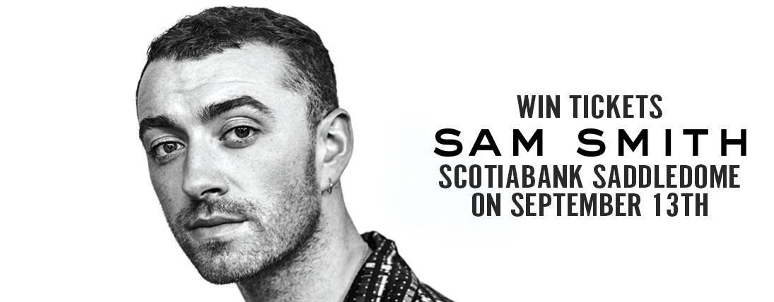 Win tickets to Sam Smith