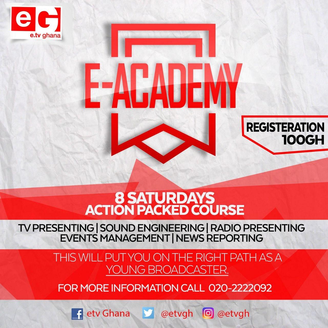 eTV Ghana To Train More Media Professionals