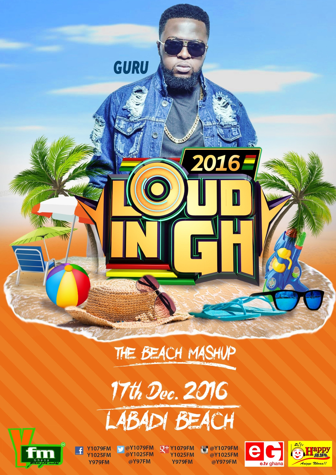 TOP STARS LINE-UP FOR YFM'S LOUD IN GH.