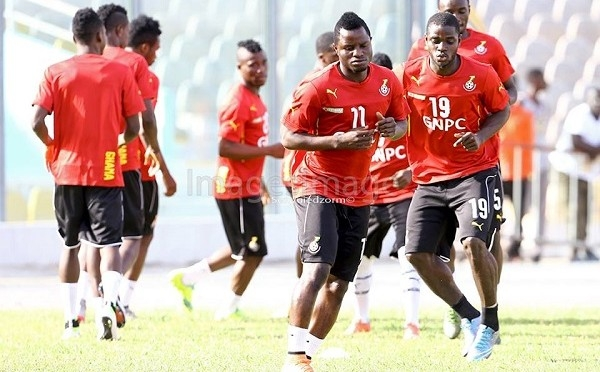 Partey, Jordan, Brimah dropped as Grant rings changes to team to face Egypt