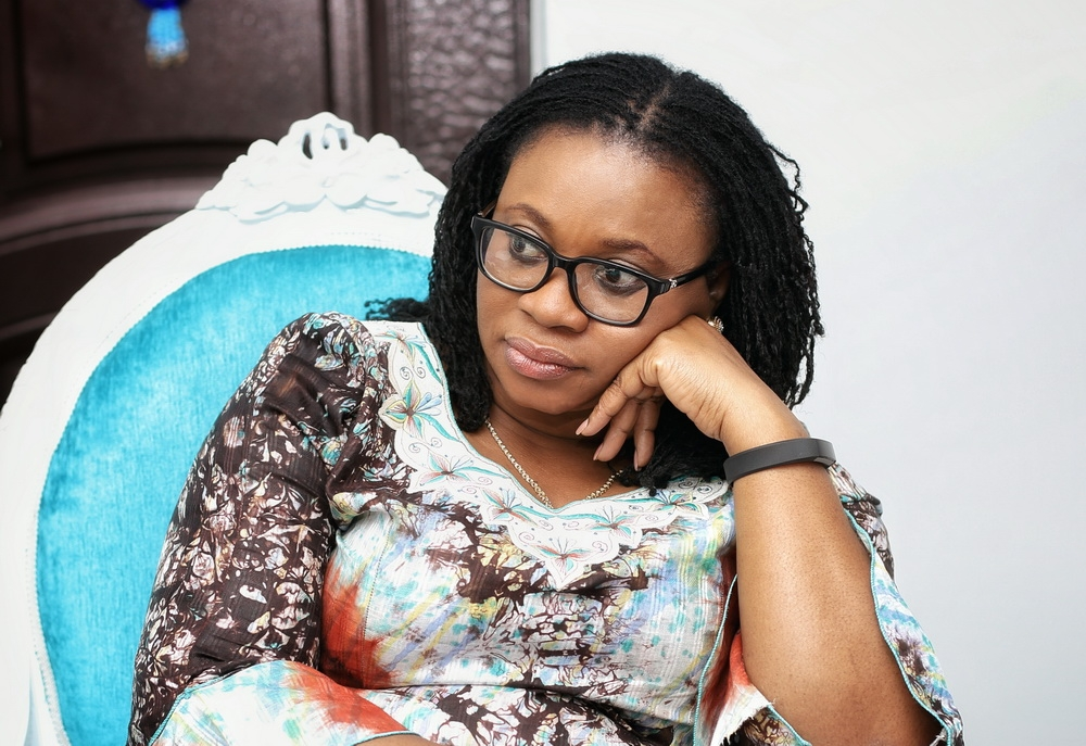 Breaking News: The President has removed Charlotte Osei from office