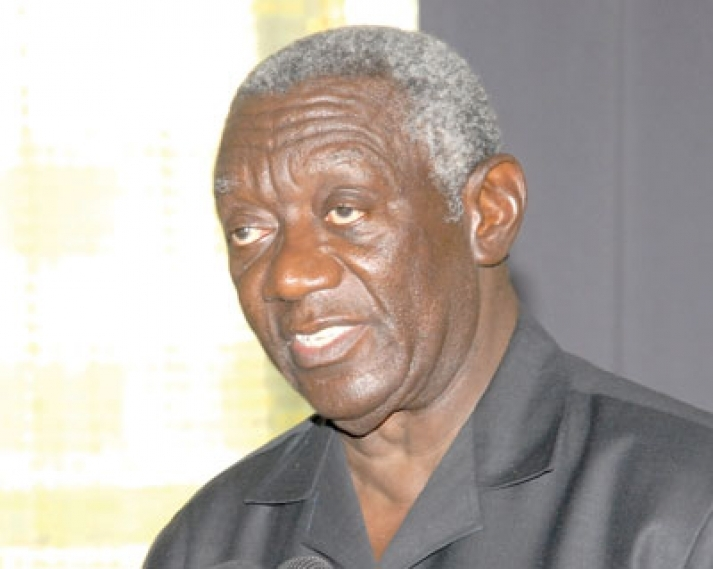 I am not dead - Former President Kufuor