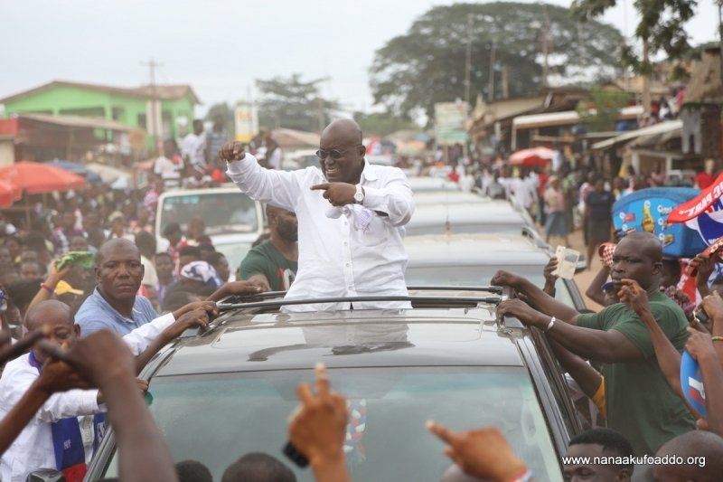 I will change Ghana in 18 months if you vote for me – Akufo-Addo