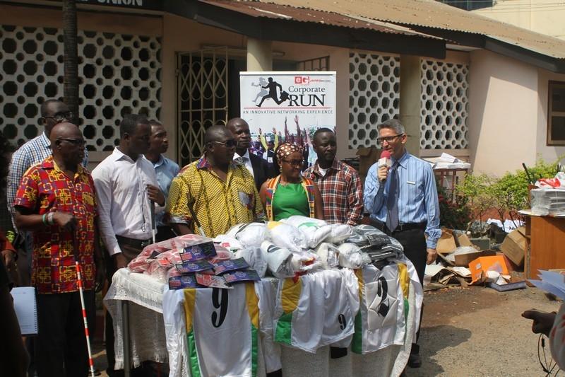 ETV Ghana, Japan Motors Donate To Ghana Blind Union