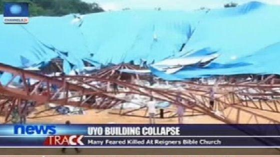 Church caves in on Nigerian faithful