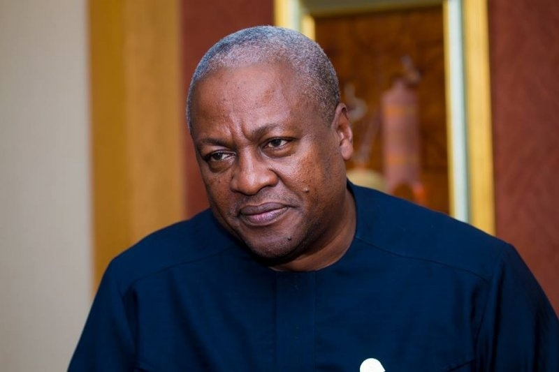 I've not hijacked Bawumia's official residence – Mahama