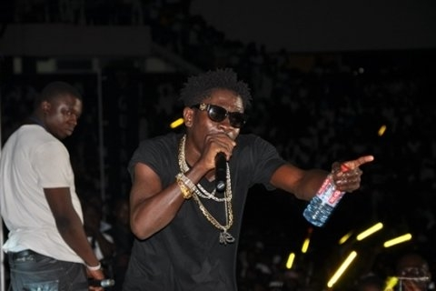 VIDEO: Shatta Wale Performs At NDC Rally