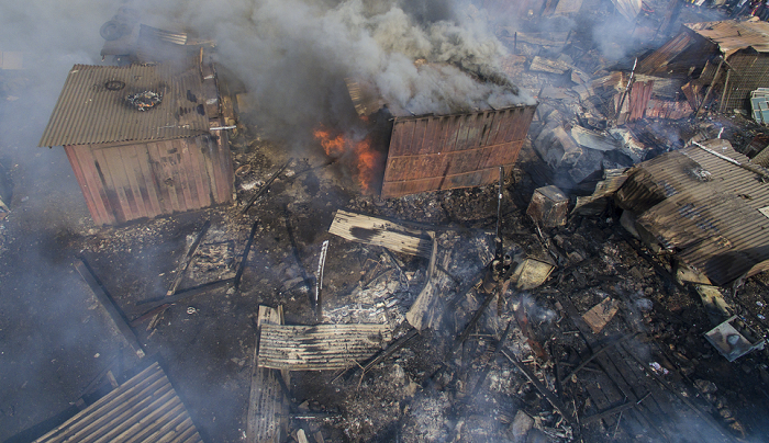 Agbogbloshie hit by another fire outbreak