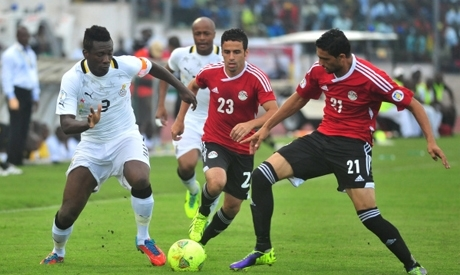 Gyan crocked As Ghana Lose To Egypt in final group game