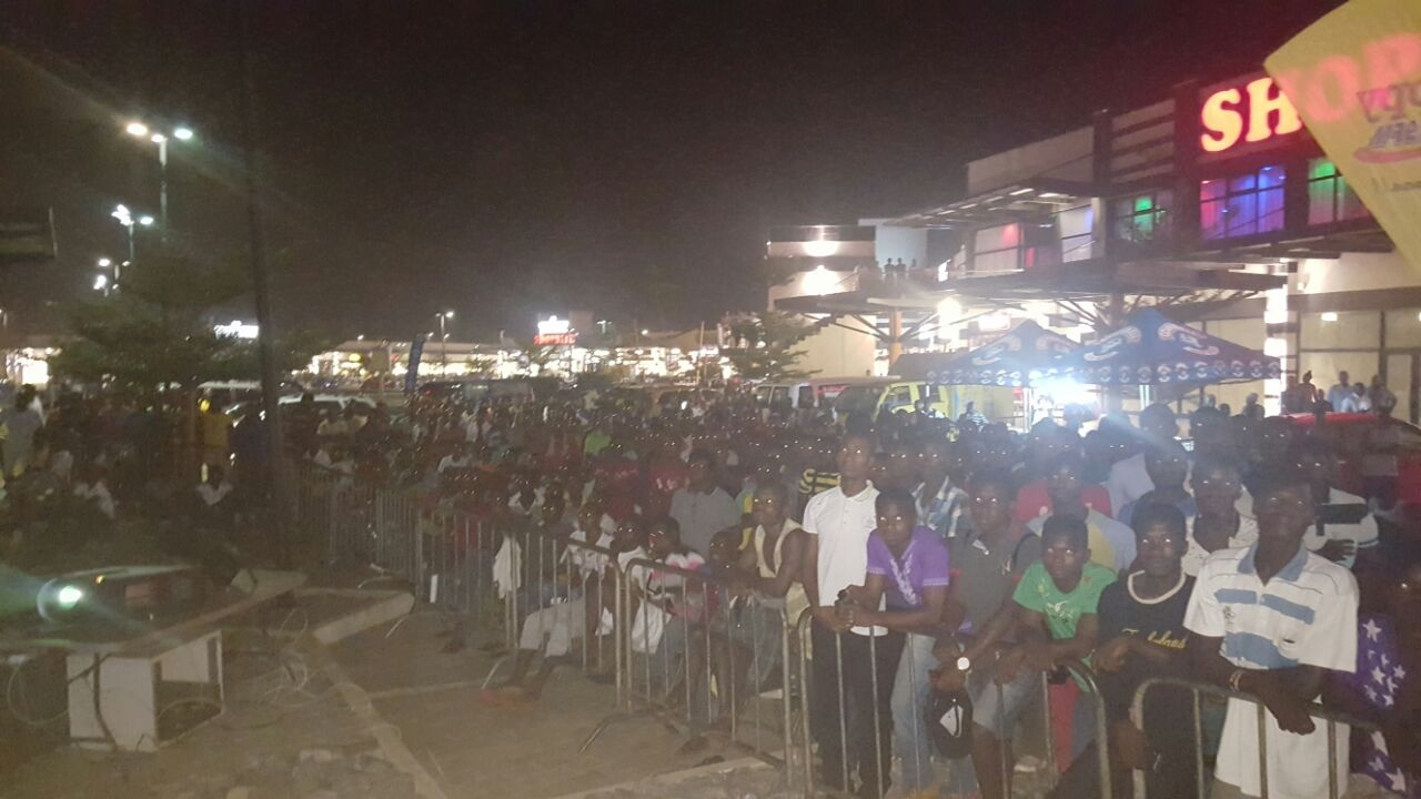 Happy FM, Cowbell Thrills Patrons at AFCON Live Screening