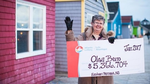 Canada lottery jackpot won with numbers from a dream