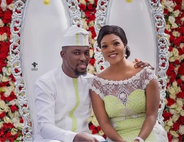 PHOTOS from A-Plus and celebrity stylist, Akosua Vee's wedding