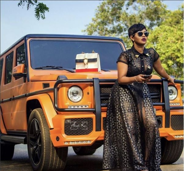 Nana Ama McBrown Flaunts Her G-Wargon and Clears the Air about her death rumor