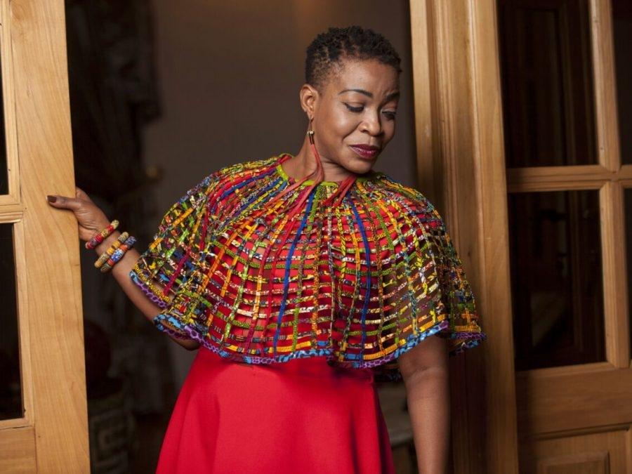Photo: Akorfa Edjeani - Asiedu celebrates 50th birthday and shares photo shot with new look