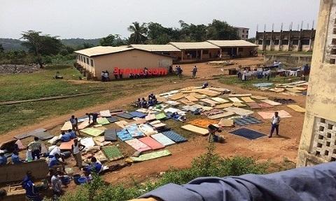 Over 250 Benkum SHS students displaced by rainstorm